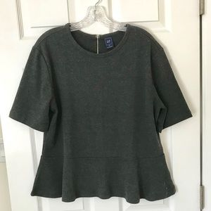 Gap Peplum Top XXL